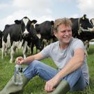 Dorset dairy farmer Jason Barber is producing vodka from milk in what he claims is a world first