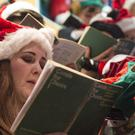 The festive singing season was the perfect opportunity for people to exercise their lungs, experts said