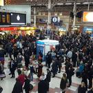Toilet charges at Victoria Station, pictured, and Charing Cross have been suspended
