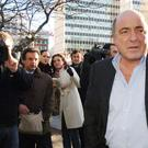 The late Boris Berezovsky. Rob Bone has been called to help solve cases around the world including the death of Russian tycoon Boris Berezovsky