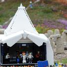 Legoland's take on the Glastonbury Festival