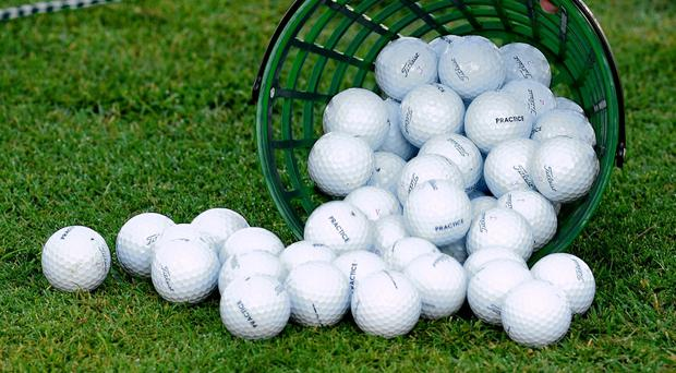 All change: New rules for golf announced (stock pic)