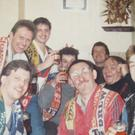 The Black Country Ale Tairsters at the Railway Tavern in Kidderminster in 1988