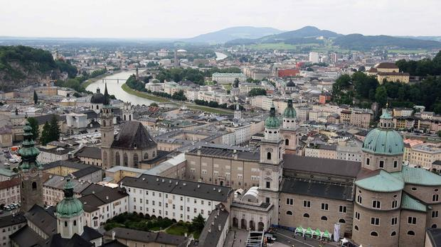 Irish man was visiting Salzburg with three friends