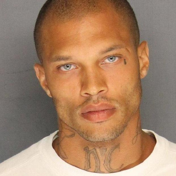 Jeremy Meeks' mugshot went viral in 2014 after he was arrested for possession of firearms and criminal street gang activity (Stockton Police Department Facebook/PA)