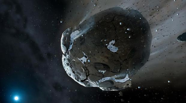 Astronomers spend a lot of time studying asteroids, comets, meteorites and meteors. (University of Cambridge/PA)