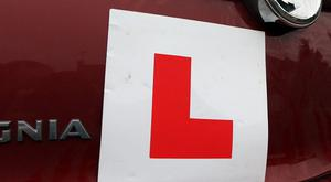 More than half of applicants failed their driving theory test.