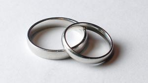 'The newlyweds had been forcedto postpone theirreal-world wedding, but as they already had their rings engraved with Saturday's date they decided to mark the day with the virtual ceremony.' Stock photo