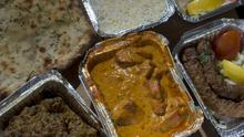 Curry dishes were on the menu for the PM