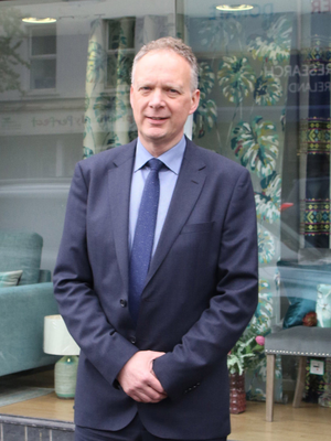Keith Irvine, general manager of Wardens Bros in Newtownards