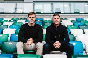 Andrew Trimble and Gareth Quinn, co-founders of Kairos