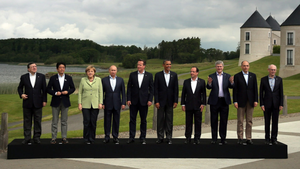Leaders at the G8 summit at Lough Erne Resort. KPMG spent nearly four years trading the resort before its sale in 2015