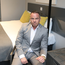 Dream Apartments chief Tom Smyth in one of the Dream Pods rooms