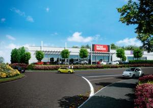 All change: Crescent Link Retail Park will welcome new retailers and revamps to existing stores