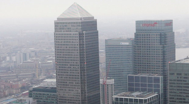 The European Medicine Agency at Canary Wharf is in dispute over its lease