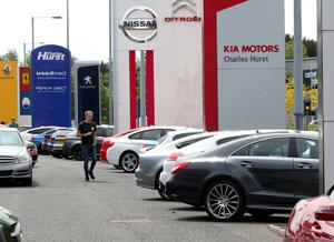 As coronavirus lockdown restrictions ease, car sales showrooms will benefit