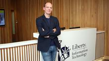 David Anderson, director of technology at Liberty IT in Belfast