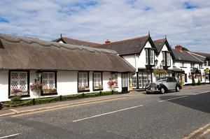 The Old Inn at Crawfordsburn dates back to 1614