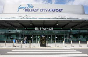 George Best Belfast City Airport handled more than 2.5 million passengers last year