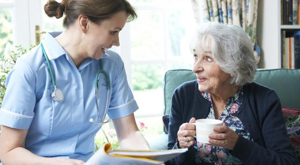 Nursing home support is capped