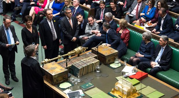 House of Commons votes on Brexit proposals
