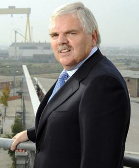 Dr Bill McGinnis is the Northern Ireland Executive's adviser on employment and skills