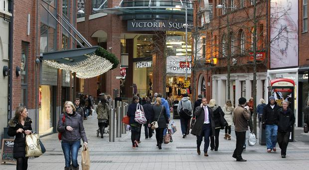 People doing their Christmas shopping in Belfast city centre are in line for an early treat this festive season - free car parking