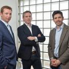 Pictured announcing the investment are (l-r): John Dolan, Managing Director, Cardinal Capital Group, Paul McElvaney, CEO, Learning Pool, Jonathan Cosgrave, Managing Director, The Carlyle Group.