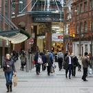 Northern Ireland's high streets saw a 1.5% upsurge in footfall in December.