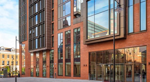 A refurbished building at Queen's University has been highly commended at the Royal Institution of Chartered Surveyors (RICS) Awards in London