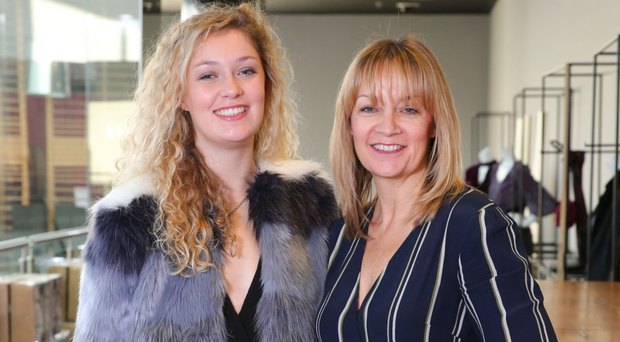 Karen Yates (right) with daughter Ellen, who was an inspiration behind the company