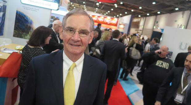 Edmund Hourican, managing director of Holiday World, which is being held at the Titanic Exhibition Centre