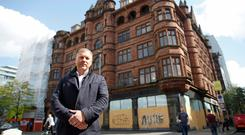 Lawrence Kenwright is developing the new George Best Hotel in Belfast