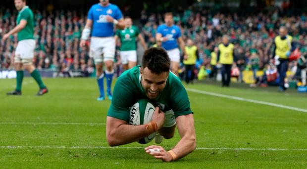 Roy loves rugby and is a fan of Ireland, who Conor Murray (above) plays for