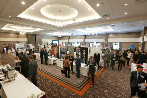 Some of Crowne Plaza Belfast's conference facilities and meeting rooms