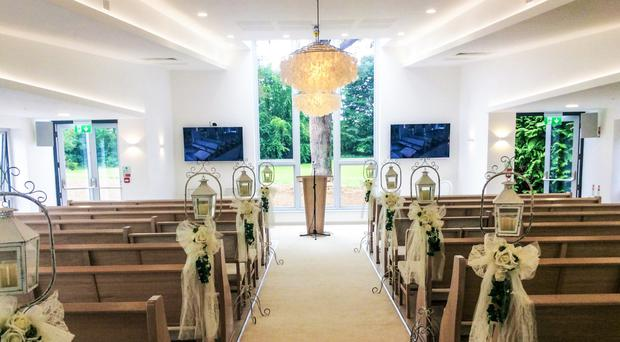 The new wedding pavilion at the Rosspark Hotel in Kells has space for up to 120 guests