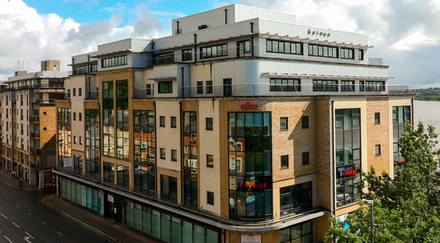 Timber Quay on Strand Road is a stunning office building