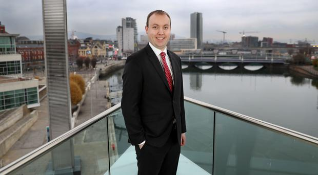 Risks: Conor Lambe of Danske Bank