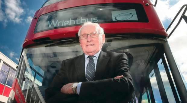 Wrightbus, with co-founder William Wright