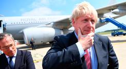 Boris Johnson ponders a no-deal Brexit — the chances of which look to have increased since he became Prime Minister
