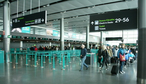 A report says the number of passengers from Northern Ireland using Dublin is on the wane, but the airport disputes the Nisra data