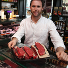William Corrie, owner of Corries Farm Butchers, at his flagship store in Holywood