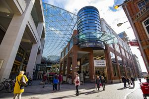 Several stores have closed in Victoria Square in Belfast