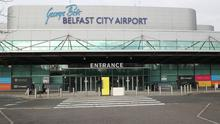 Backing: George Best Belfast Airport received financial support