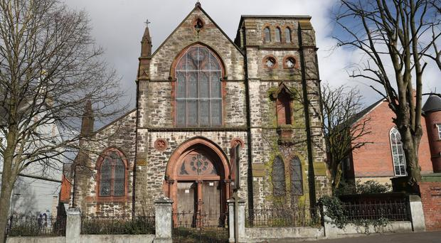 The former Holy Rosary Church on Belfast's Ormeau Road has lain vacant since 1980