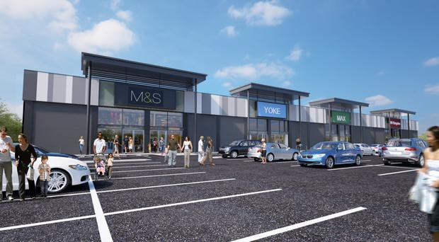What the new Marks and Spencer store at Craigavon could look like
