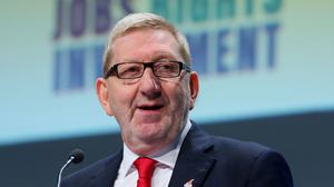 """Len McCluskey said Theresa May's determination to """"appease the hard right"""" was putting millions of jobs in jeopardy"""