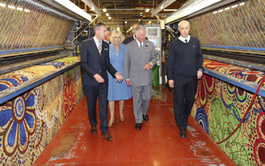 The Craigavon company, which recently received a visit from the Duke and Duchess of Cornwall, sends its luxury products to customers ranging from US casinos to Middle Eastern luxury hotels