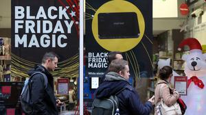 A drop in non-food retail sales in November was partly down to Black Friday, experts have said