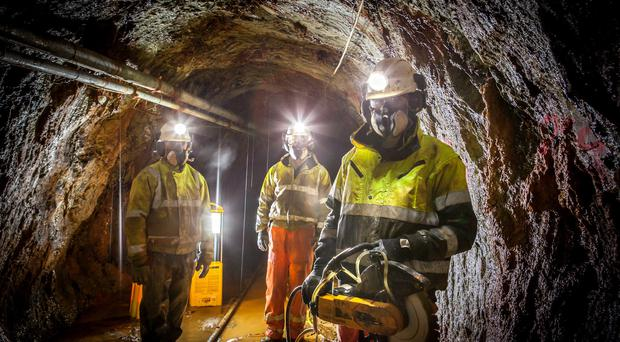 Dalradian Resources believes it can mine gold deposits from its site in the Tyrone countryside within three years